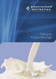 download our Food & Beverage Tubing Brochure - Electrochem
