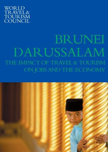 THe imPaCT OF TraVel & TOurism On JObs anD THe eCOnOmY