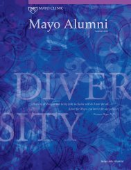 Mayo Alumni Magazine 2010 Summer - MC4409-0810 - Mayo Clinic