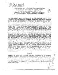 Acta - Bansefi
