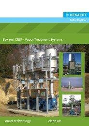 Bekaert CEB® - Vapor Treatment Systems smart technology clean air