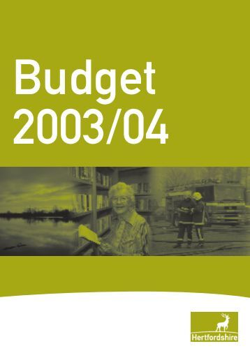 HH A4 Tech Report Cover A/W - Hertfordshire County Council