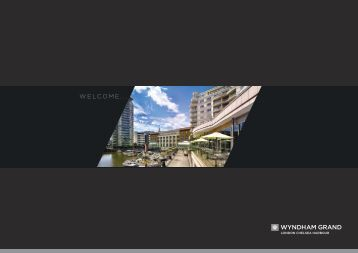 View our hotel brochure - Wyndham Grand London Chelsea Harbour