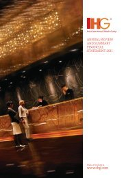 Download Annual Review PDF (7.43Mb) - InterContinental Hotels ...