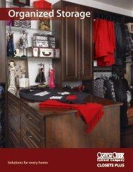 Closets Plus Brochure (PDF 8M) - Canyon Creek Cabinet Company