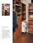 Closets Plus Brochure (PDF 8M) - Canyon Creek Cabinet Company - Page 6