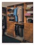 Closets Plus Brochure (PDF 8M) - Canyon Creek Cabinet Company - Page 7