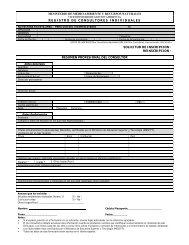 Formulario de Registro para Consultores Individuales - Ministerio de ...