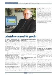Aktuelles Interview mit der Zeitschrift für Human ... - Egon Blum