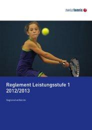 Reglement Swiss Tennis LS1 2012-2013 (PDF)