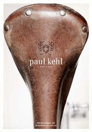 Spring/Summer 2012 menSWeAr COLLeCTiOn - Paul Kehl