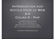 php - Laurent Henocque