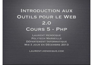php - Laurent Henocque