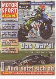 MSa - Ausgabe 2008-37 - RS-Sportbilder
