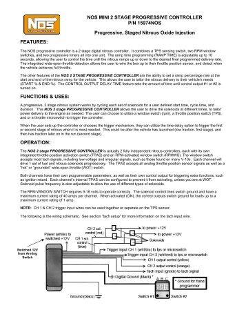 Mini 2 stage progressive controller mps racing nos mini 2 stage progressive controller mps sciox Images