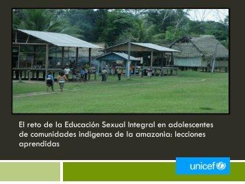 sexualidad indigena - codajic