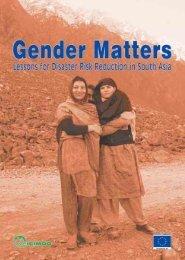 Gender Matters: Lessons for Disaster Risk ... - Gender Climate