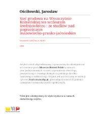 Untitled - Instytut Archeologii Uniwersytetu Warszawskiego