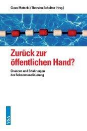 Zurück zur öffentlichen Hand? - VSA Verlag