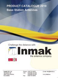 Base Station Antenna - Inmak