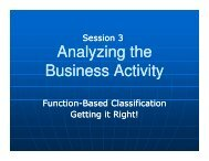 Ottawa 2010 02 Session 3 Analyzing the Business Activity - Verney ...