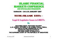 ISLAMIC REITS - Meezan Bank
