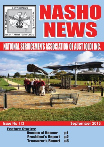 Issue 113 - Nasho Front Page