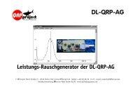 Baumappe Power RGen - QRPproject!