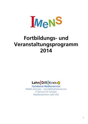 Fortbildungs - IMeNS Portal - Lahn-Dill-Kreis