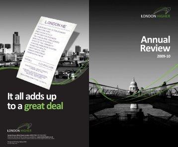 PDF: 1.6 MB - London Higher