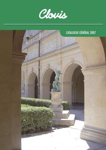 Le catalogue général 2007 des éditions Clovis - La Porte Latine