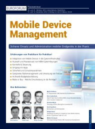 Mobile Device Management - BearingPoint ToolBox