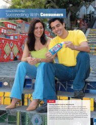 Succeeding With Consumers - Colgate