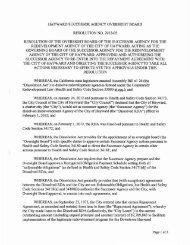 hayward successor agency oversight board ... - City of HAYWARD