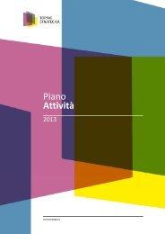 Piano Attività 2013 - Torino Strategica