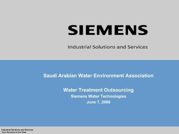 Equipment Purchase vs. Outsourced Water Treatment