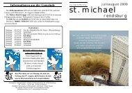 Juli/August 2009 - Katholische Gemeinde St. Michael (Rendsburg)
