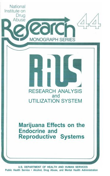 a analysis of the effects of marijuana