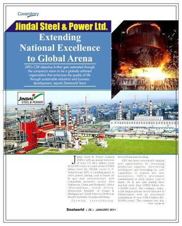 Cover Story - Steelworld