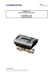 sharky 775 - Sauter Automation AB