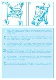 leggere attentamente questo libretto di istruzioni per - Neo Baby