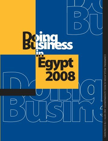 Doing Business in Egypt - Investment Climate