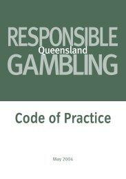 Responsible Gambling Code Of Practice - Jupiters Hotel & Casino ...