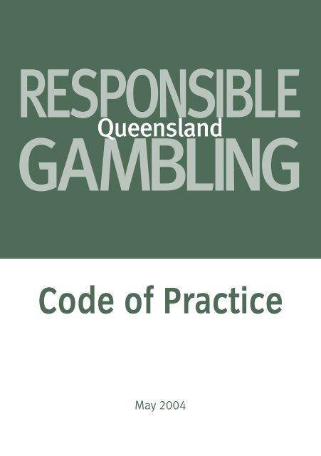 Queensland gambling code of practice pearl warriors slot machine