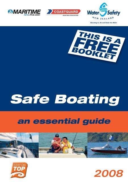 Safe Boating - Coastguard New Zealand