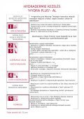 HYDRADERMIE oktatási anyag - bms-wellness.com - Page 5