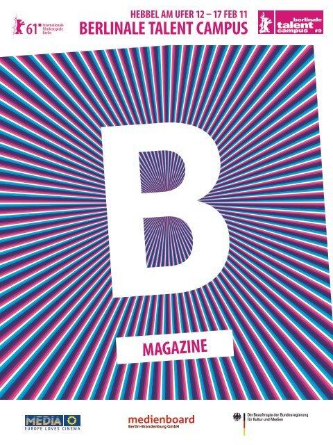 magazine berlinale talent campus - Berlinale Talent Campus - Top-ix