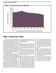 Property Crimes in Virginia - Virginia Department of Criminal Justice ...