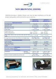 List of Radiation Tolerant lenses_SODERN Apl 2012