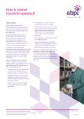 Animals and medicines research - Association of the British ... - Page 6